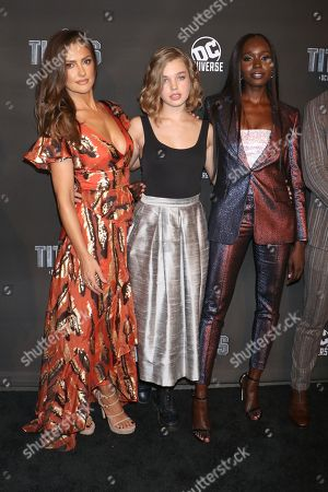 Minka Kelly, Teagan Croft, Anna Diop