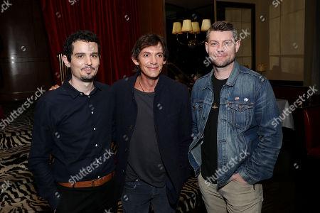Stock Photo of Damien Chazelle (Director), Lukas Haas, Patrick Fugit