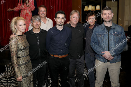 Olivia Hamilton, Tom Cross, Rick Armstrong, Damien Chazelle (Director), Mark Armstrong, Lukas Haas and Patrick Fugit