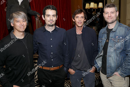 Stock Picture of Tom Cross, Damien Chazelle (Director), Lukas Haas, Patrick Fugit