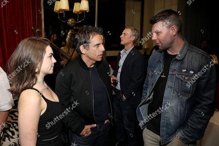 Stock Image of Ella Olivia Stiller, Ben Stiller, Patrick Fugit