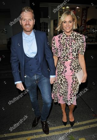 Stock Picture of James Midgley and Jenni Falconer