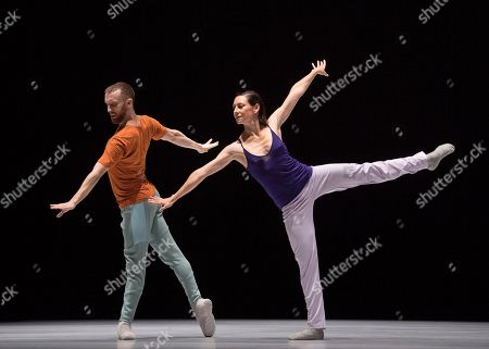 Editorial photo of 'A Quet Evening of Dance' Dance choreographed by William Forsythe and performed by William Forsythe Dance Company at Sadler's Wells Theatre, London, UK, 04 Oct 2018