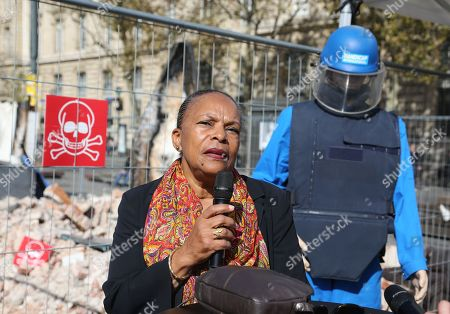 Stock Image of Christiane Taubira