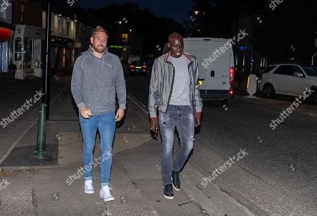 Stock Picture of Rob Elliot and Mohamed Diame