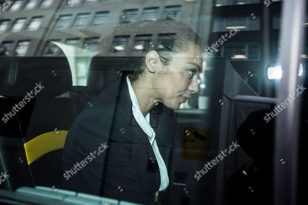 Editorial photo of Lilly Becker financial settlement court case, London, UK - 03 Oct 2018