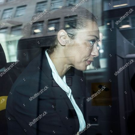 Editorial image of Lilly Becker financial settlement court case, London, UK - 03 Oct 2018