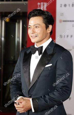 South Korean actor Jang Dong-gun arrives for the opening ceremony of the 23rd Busan International Film Festival (BIFF) in Busan, South Korea, 04 October 2018. The BIFF will screen 323 films from 79 countries and runs from 04 to 13 October 2018.
