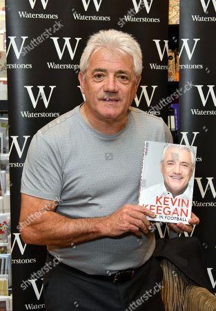 Editorial image of 'Kevin Keegan, My Life in Football' book signing, London, UK - 04 Oct 2018