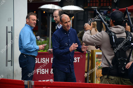 Editorial photo of Johnny Vaughan out and about, London, UK - 04 Oct 2018