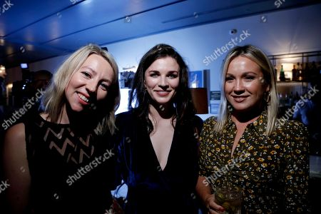 Lydia Hampton, Aisling Bea and Lindsay Shookus