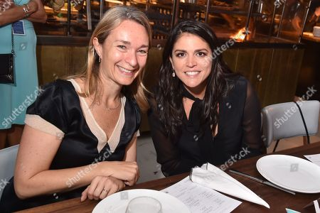 Celine Rattray and Cecily Strong