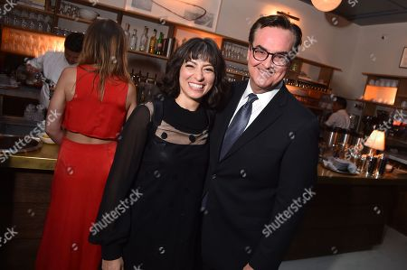 Melissa Villasenor and Steve Higgins