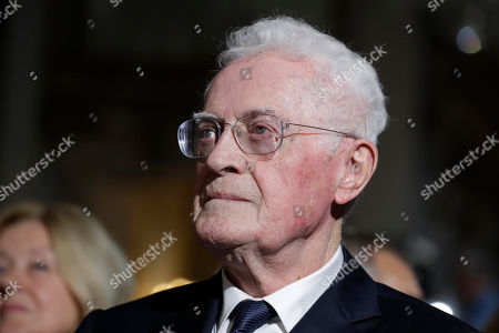 Member of the Constitutional Council Lionel Jospin looks on at the Constitutional Council in Paris, France, 04 October 2018, during a meeting to mark the 60th anniversary of the promulgation of the Constitution of the Fifth Republic adopted by referendum on 28 September 1958.