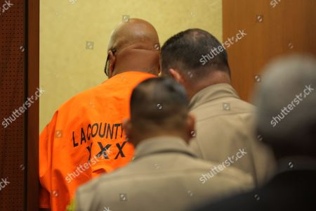 Editorial photo of Former Rap Mogul 'Suge' Knight Sentencing for Manslaughter, Los Angeles, USA - 04 Oct 2018