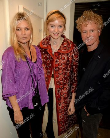 Kate Moss, Lily Cole and Chris Levine