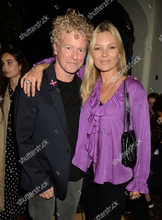 Chris Levine and Kate Moss