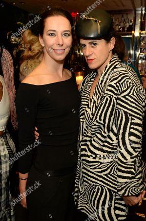 Kristina Blahnik and Diana Gomez