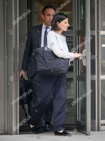 "Salzman, Allison Mack. Lauren Salzman leaves Brooklyn Federal Court, in New York. Salzman is among defendants from the self-help group NXIVM, co-founded my her mother Nancy Salzman, charged with coercing women to be a part of a secret sub-group where they were expected to act as ""slaves"" and engage in sex acts"