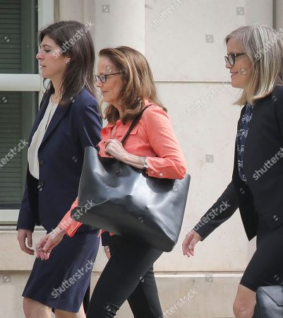 "Russell, Allison Mack. Kathy Russell, center, arrives with her legal team to Brooklyn Federal Court, in New York. Russell is among defendants from the self-help group NXIVM, charged with coercing women to be a part of a secret sub-group where they were expected to act as ""slaves"" and engage in sex acts"