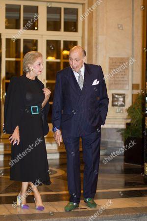 Carolina Herrera and Marques Reinaldo Herrera