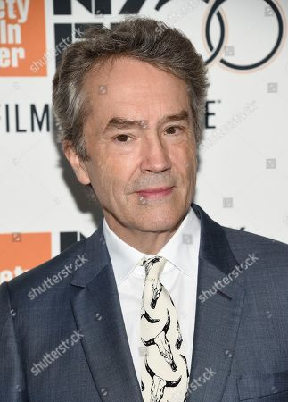 """Carter Burwell attends the premiere for """"The Ballad of Buster Scruggs"""" at Alice Tully Hall during the 56th New York Film Festival, in New York"""