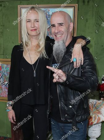 Stock Picture of Pearl Aday and Scott Ian