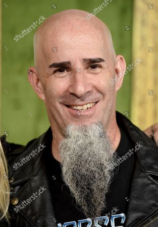 """Scott Ian arrives at the Los Angeles premiere of """"My Dinner with Herve"""", at Paramount Studios"""