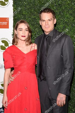 Stock Picture of Morgan Macgregor and Michael C Hall