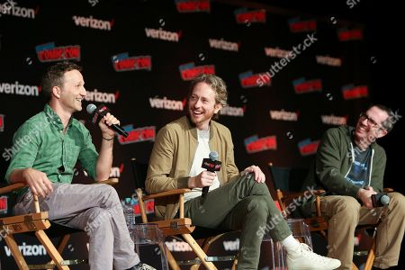 Editorial image of Sony Crackle Presents: SuperMansion at Comic Con 2018, New York, USA - 04 Oct 2018