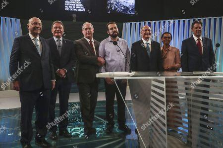Editorial photo of Last presidential debate in Brazil prior to general elections, Rio De Janeiro - 04 Oct 2018