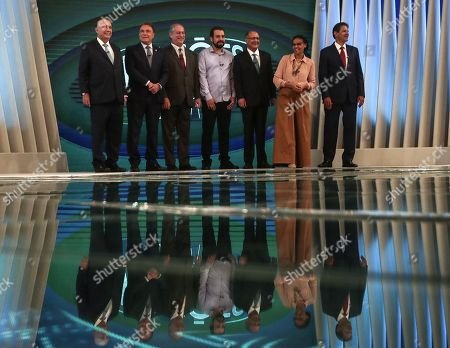Editorial picture of Last presidential debate in Brazil prior to general elections, Rio De Janeiro - 04 Oct 2018
