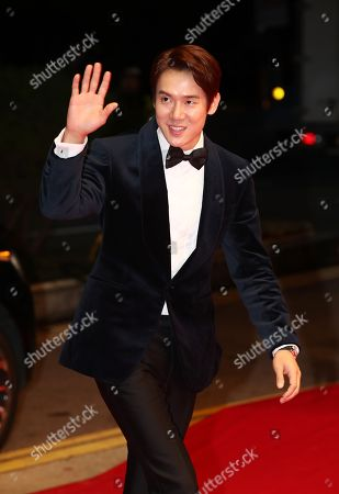South Korean actor Yoo Yeon-seok walks on the red carpet to enter the opening ceremony of the 23rd Busan International Film Festival (BIFF) in the southern port city of Busan, South Korea, 04 October 2018 (issued 05 October 2018). The BIFF will screen 323 movies from 79 countries and runs from 04 to 13 October.