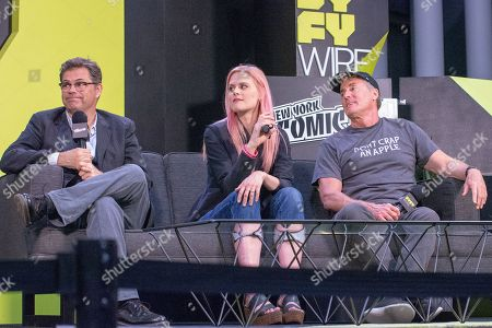 Executive Producer Dana Gould and series stars Janet Varney and John C. McGinley