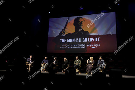 Editorial image of 'Man in the High Castle' panel, New York Comic Con, USA - 04 Oct 2018
