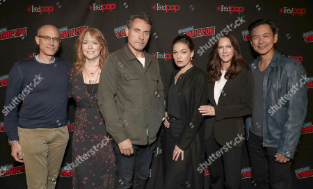 Editorial photo of 'Man in the High Castle' panel, New York Comic Con, USA - 04 Oct 2018