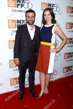 David Krumholtz and wife Vanessa Britting