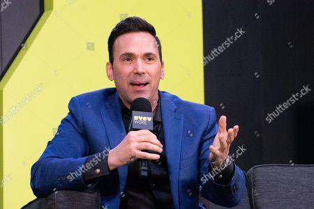 Editorial photo of ' Power Rangers' panel, New York Comic Con, USA - 04 Oct 2018