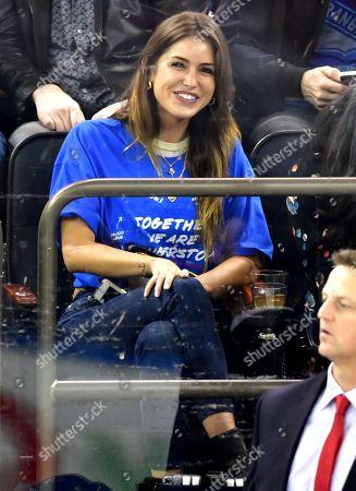 Editorial image of Celebrities at Nashville Predators v New York Rangers, NHL ice hockey match, Madison Square Garden, New York, USA - 04 Oct 2018