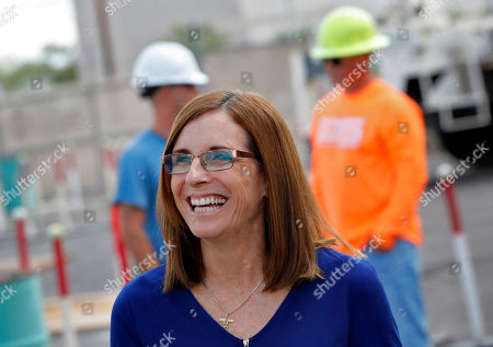 Editorial picture of Election 2018 Senate Arizona Kavanaugh, Phoenix, USA - 03 Oct 2018
