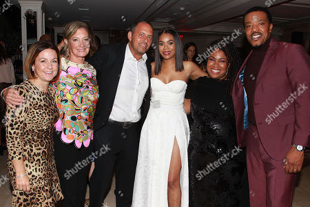 Erin Siminoff, Elizabeth Gabler, Bob Teitel, Regina Hall, Angie Thomas and Russell Hornsby