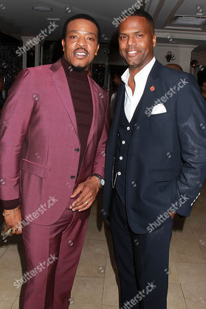 Russell Hornsby and AJ Calloway