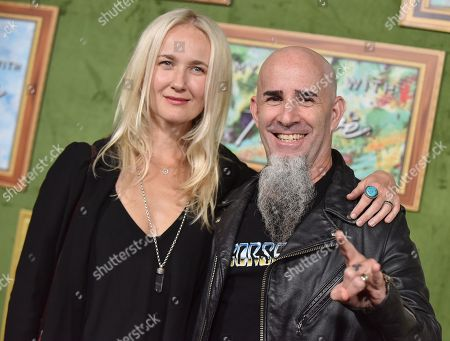 Scott Ian and Pearl Aday