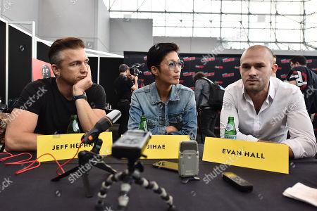 Jeff Hephner, Jihae, Evan Hall
