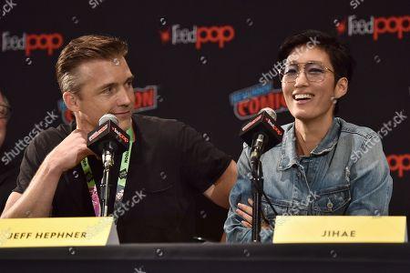 Editorial image of 'Mars' Season 2 TV show panel, New York Comic Con, USA - 04 Oct 2018