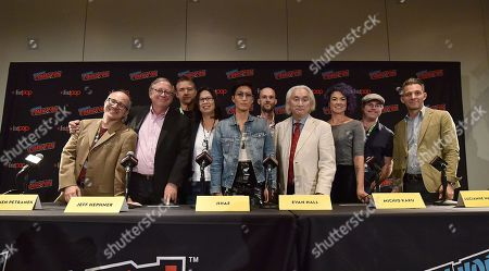 Stock Image of Dee Johnson, Dr. Stephen Petranek, Jeff Hephner, Jihae, Evan Hall, Michio Kaku,Lucianne Walkowicz, Andy Weir