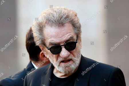 French singer Eddy Mitchell attends a ceremony to pay a tribute to late singer Charles Aznavour in Paris, France, 05 October 2018.  Aznavour, the French crooner and actor whose performing career spanned eight decades and who seduced fans around the world with his versatile tenor, lush lyrics and kinetic stage presence, has died on 01 October at the age of 94.