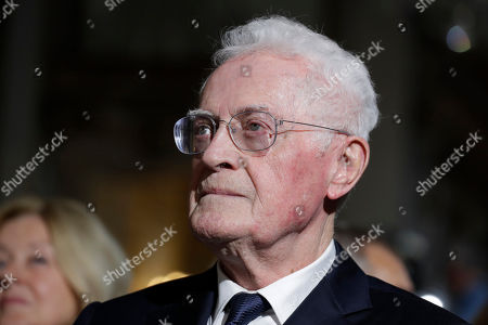 Member of the Constitutional Council Lionel Jospin attends a ceremony at the Constitutional Council in Paris, during a meeting to mark the 60th anniversary of the promulgation of the Constitution of the Fifth Republic adopted by referendum on September 28, 1958