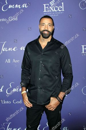 Stock Image of US actor Timon Kyle Durrett attends the premiere of Jane & Emma at Arclight Hollywood in Los Angeles, California, USA, 04 October 2018. The movie opens in the US cinemas on 12 October 2018