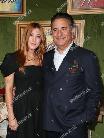 Stock Photo of Andy Garcia, Dominik Garcia-Lorido